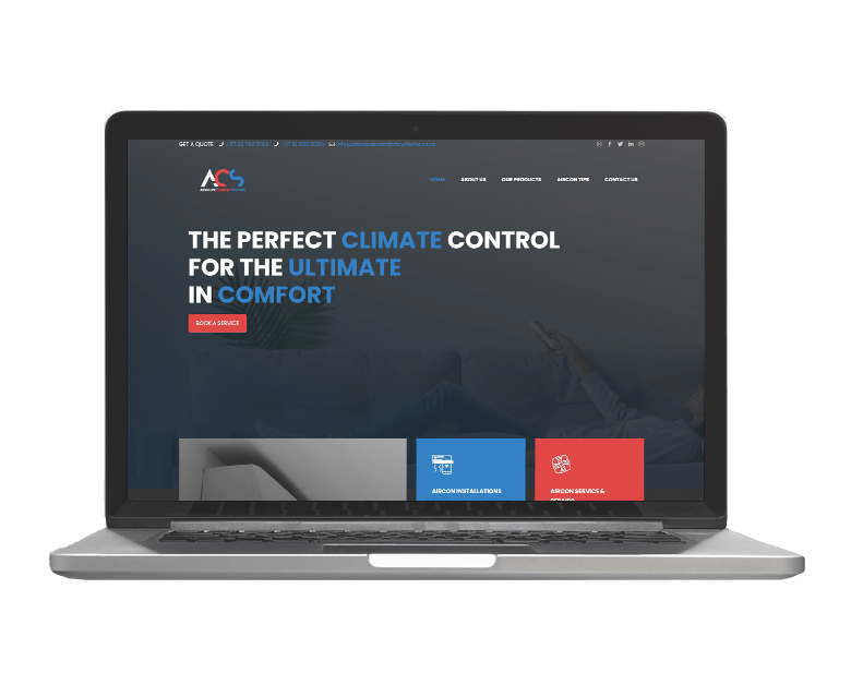 Life Media Production-Website Project_Absolute Comfort Systems