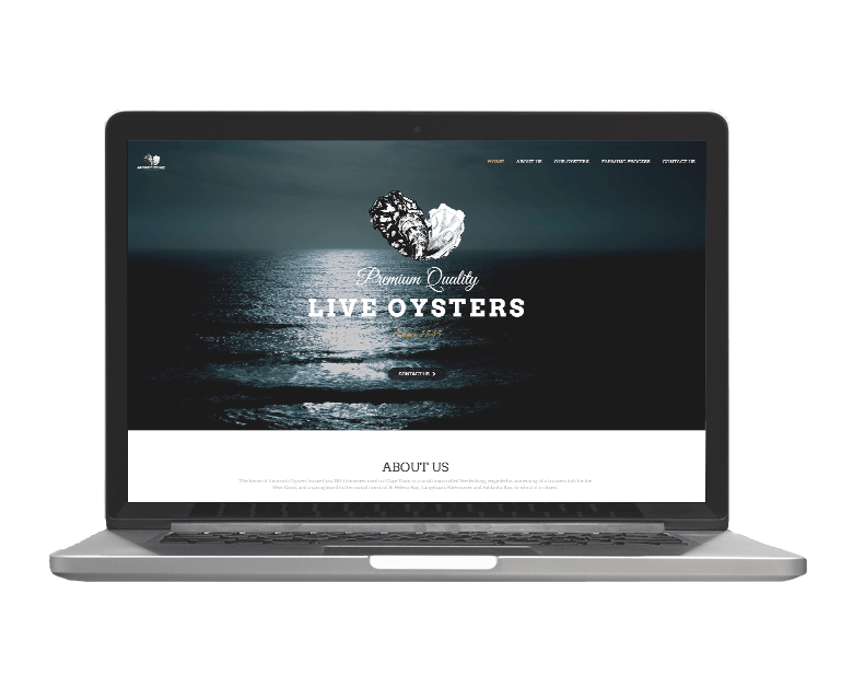 Life Media Production-Website Project_Antonios Oysters